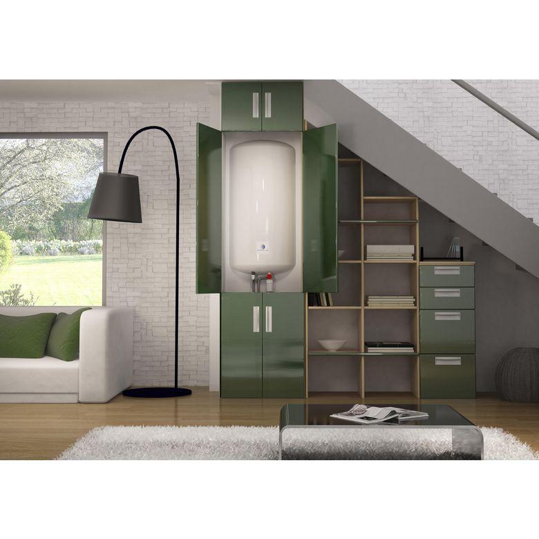 chauffe eau initial sauter 100 l salle de bains lapeyre. Black Bedroom Furniture Sets. Home Design Ideas