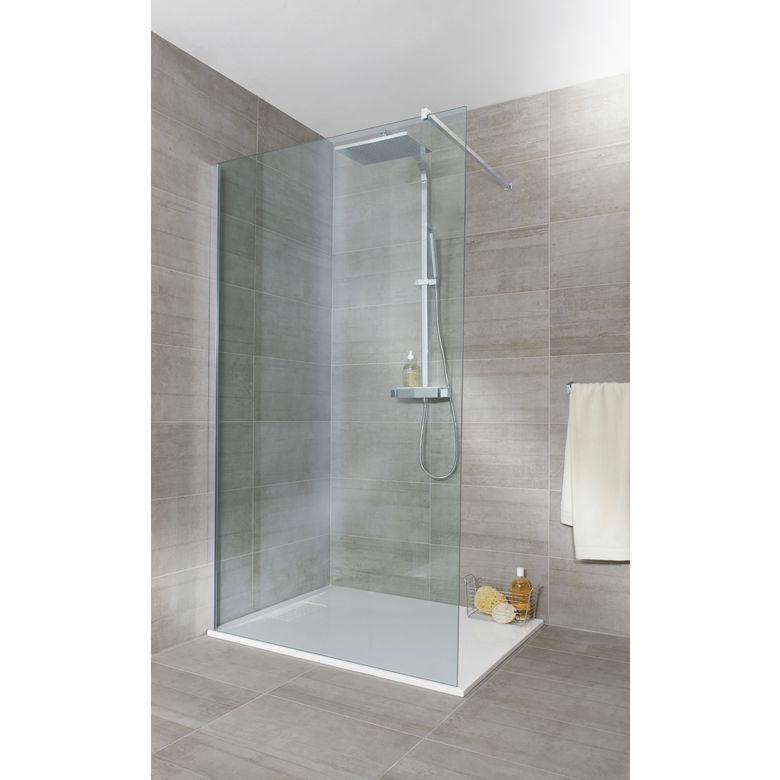 paroi de douche grand espace line salle de bains. Black Bedroom Furniture Sets. Home Design Ideas