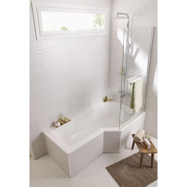 baignoire droite toplax droite audace salle de bains. Black Bedroom Furniture Sets. Home Design Ideas