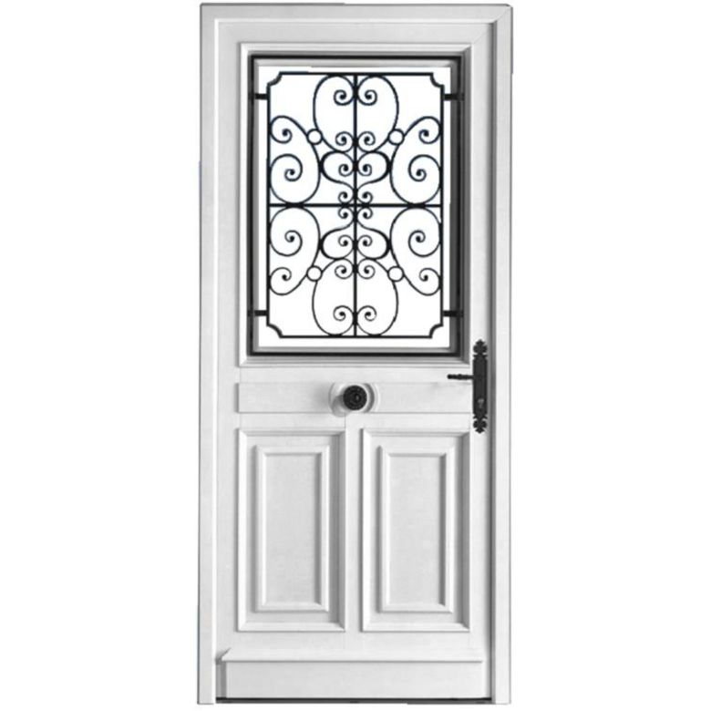 Porte d 39 entr e mansart pvc portes Porte d entree standard