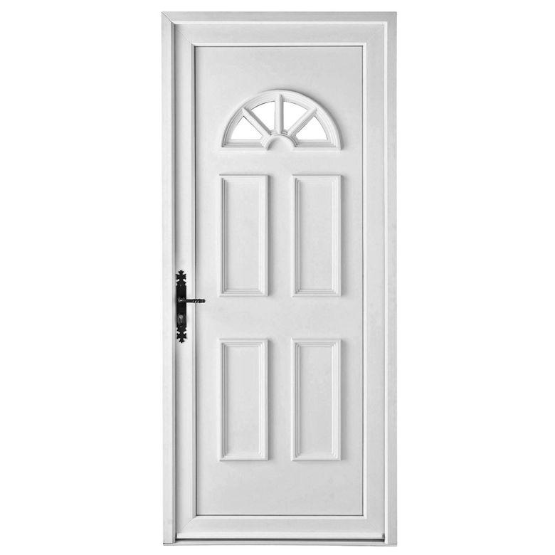 Porte d 39 entr e luna pvc portes for Carrelage porte d entree