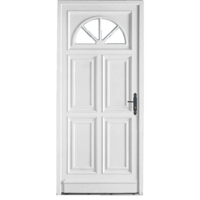 Porte d 39 entr e chenonceau pvc portes - Porte d entree standard ...