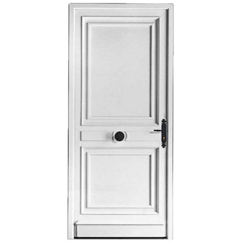 Porte d 39 entr e musset pvc portes for Porte entree en pvc prix
