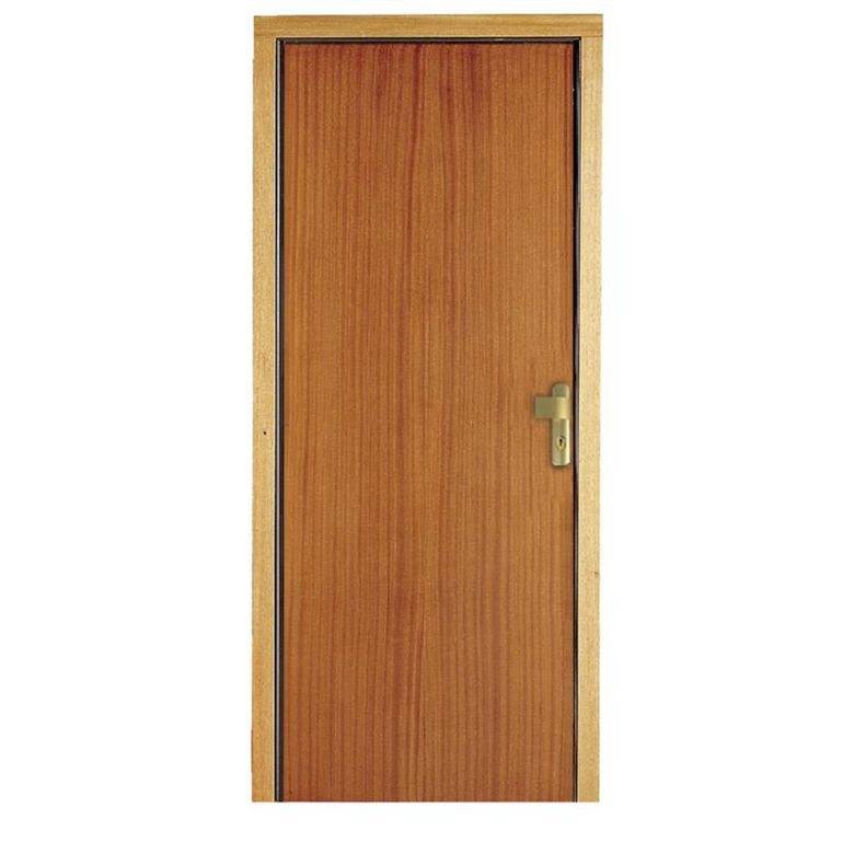porte seule renforc e recoupable bois exotique sipo portes. Black Bedroom Furniture Sets. Home Design Ideas