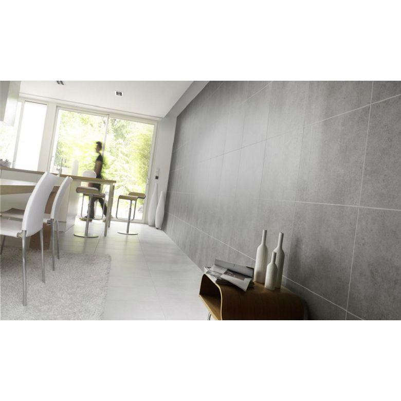 Lambris pvc element premium gris salle de bains for Lambris pvc grosfillex salle de bain