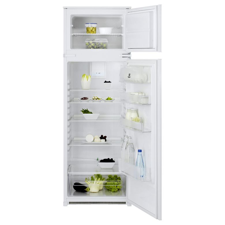 r frig rateur cong lateur electrolux 286l niche h 158 cm cuisine. Black Bedroom Furniture Sets. Home Design Ideas
