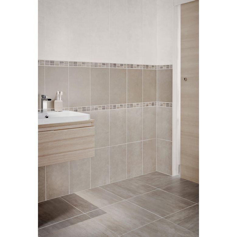 Carrelage dedicace 25 x 40 cm sols murs - Carrelage mur salle de bain ...