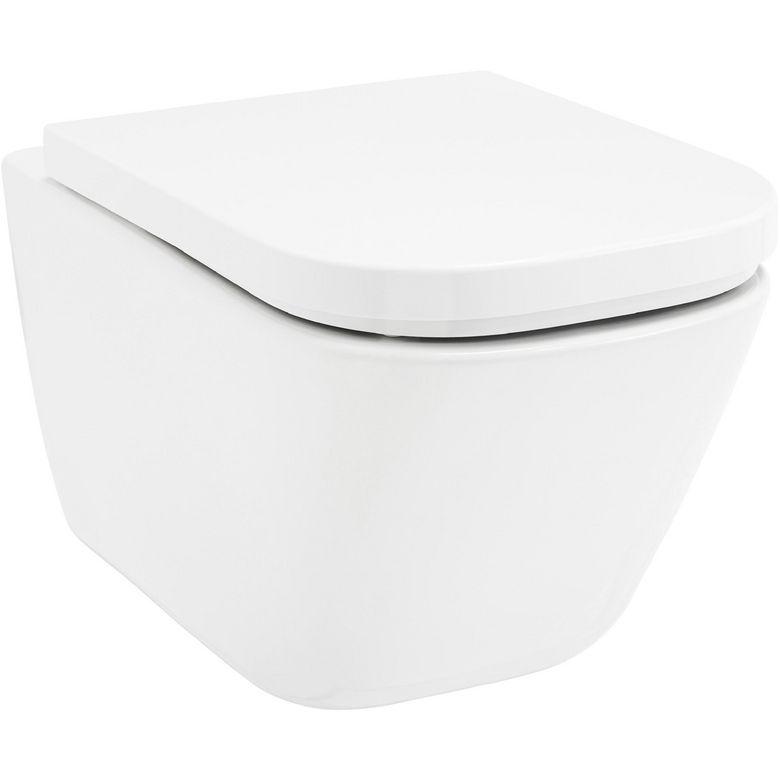 cuvette suspendue the gap sans bride salle de bains. Black Bedroom Furniture Sets. Home Design Ideas
