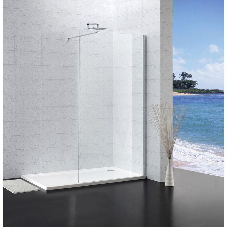 paroi de douche lary  salle de bains  lapeyre