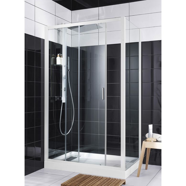 porte de douche coulissante rubis salle de bains. Black Bedroom Furniture Sets. Home Design Ideas