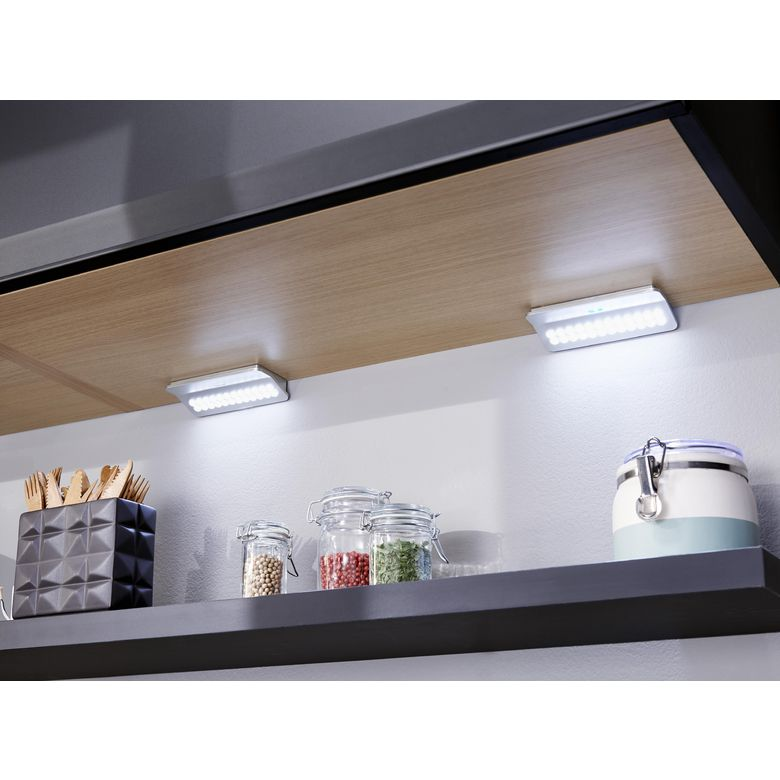 kit de 2 rampes rectangulaires led cuisine