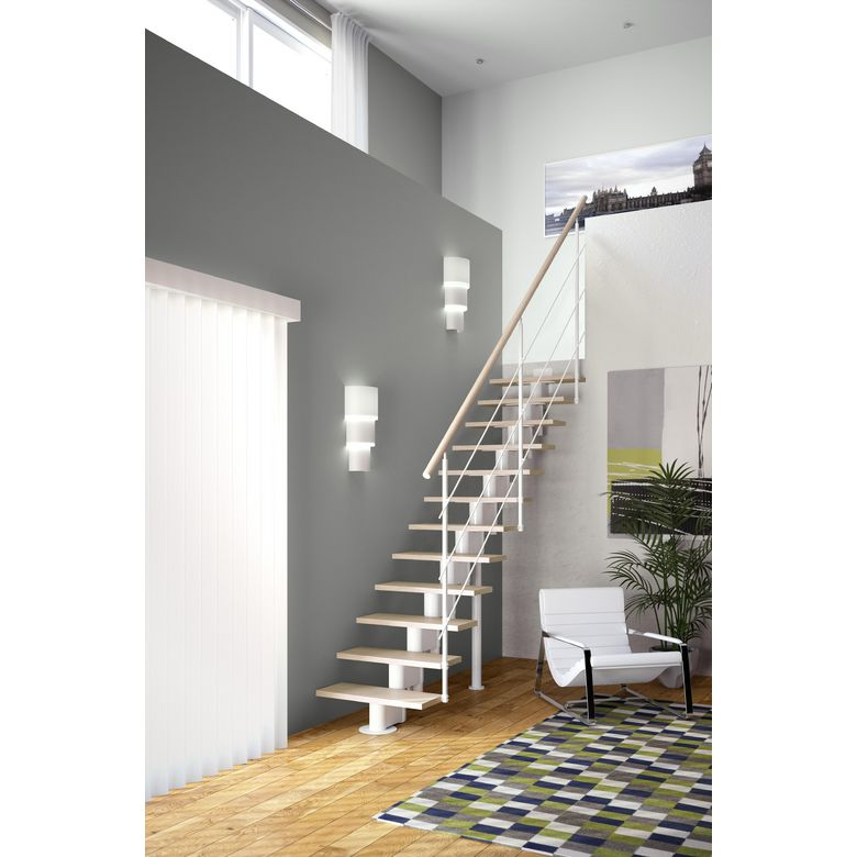 Echelle gain de place droit london h tre escaliers - Changer escalier de place ...
