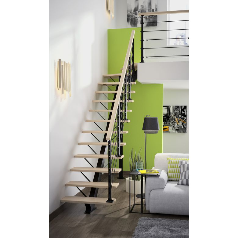 escalier qt haut m tal escaliers. Black Bedroom Furniture Sets. Home Design Ideas