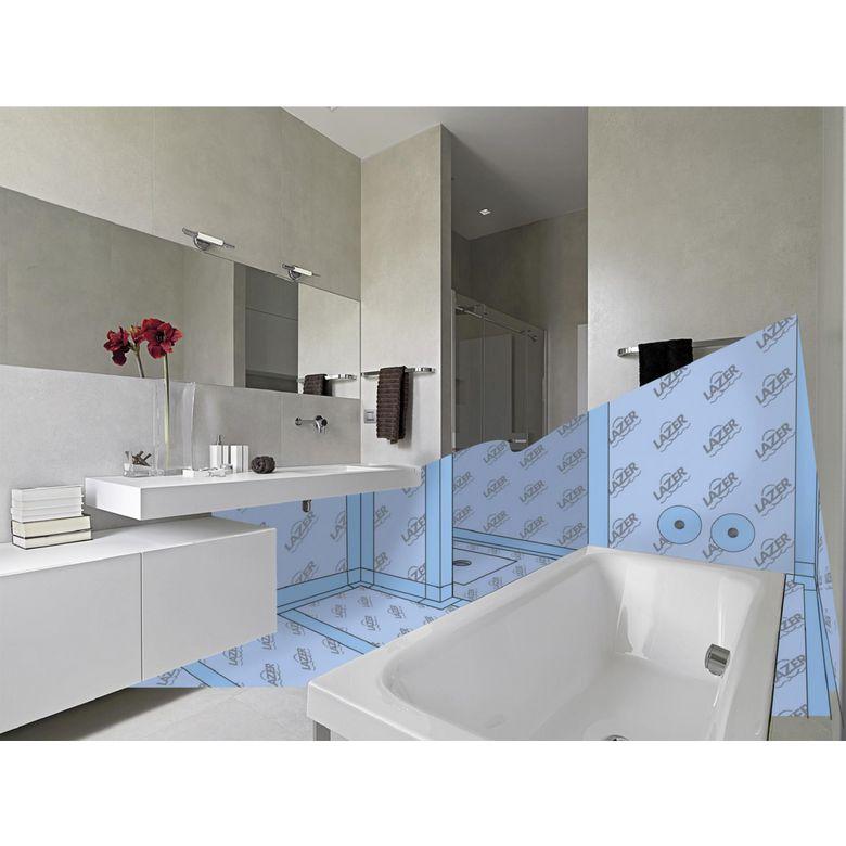 kit de douche natosec lineal sortie verticale salle de bains. Black Bedroom Furniture Sets. Home Design Ideas