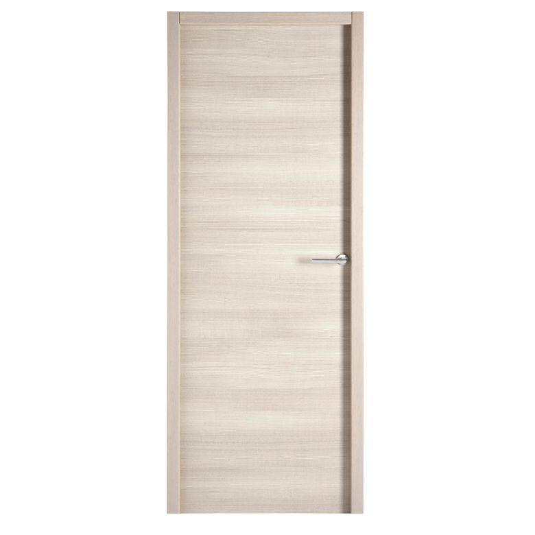 Bloc porte variation ch ne cendr structur thermique portes - Bloc porte interieur lapeyre ...