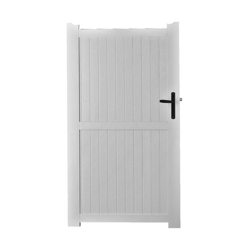 Portillon pvc touquet ext rieur Portillon lapeyre fer