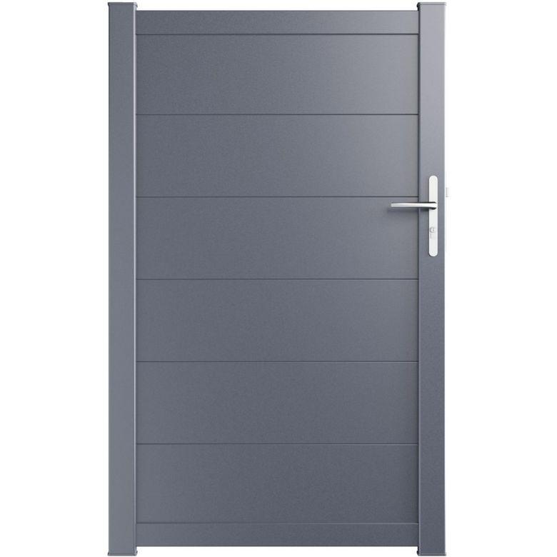 portillon aluminium volterra ext rieur. Black Bedroom Furniture Sets. Home Design Ideas