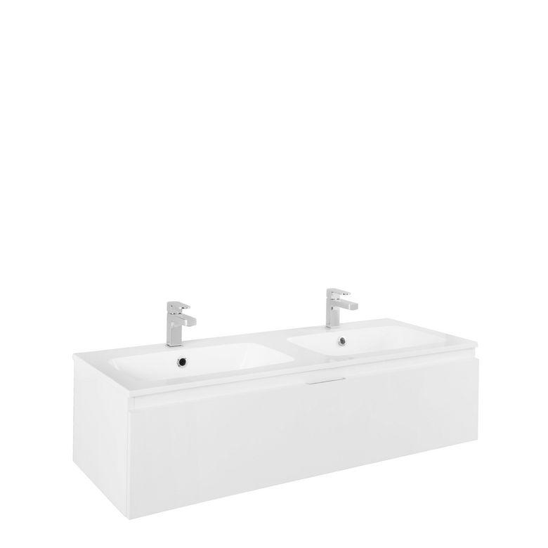 meuble pour vasque semi encastr e l 120 cm evasion. Black Bedroom Furniture Sets. Home Design Ideas