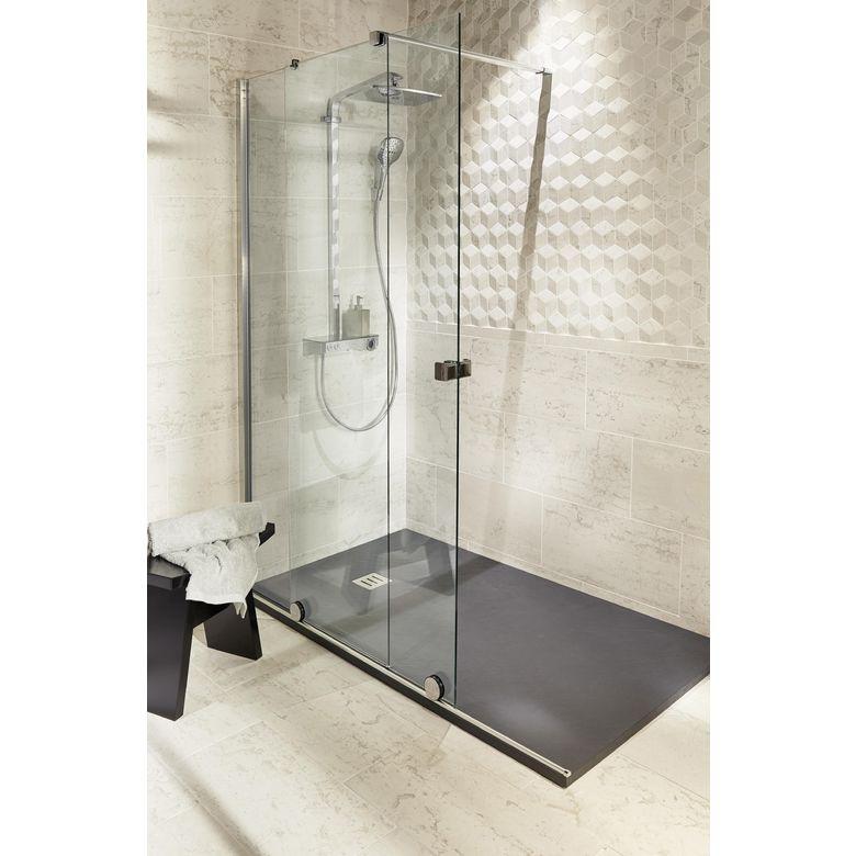 porte de douche coulissante maxxi gauche salle de bains. Black Bedroom Furniture Sets. Home Design Ideas