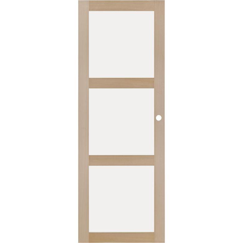 Porte coulissante atria vitr e portes lapeyre Porte coulissante suspendue lapeyre