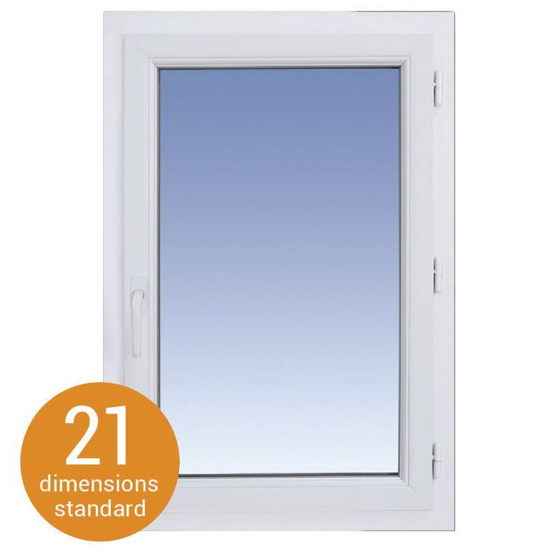classic pvc ouverture droite - fenêtres
