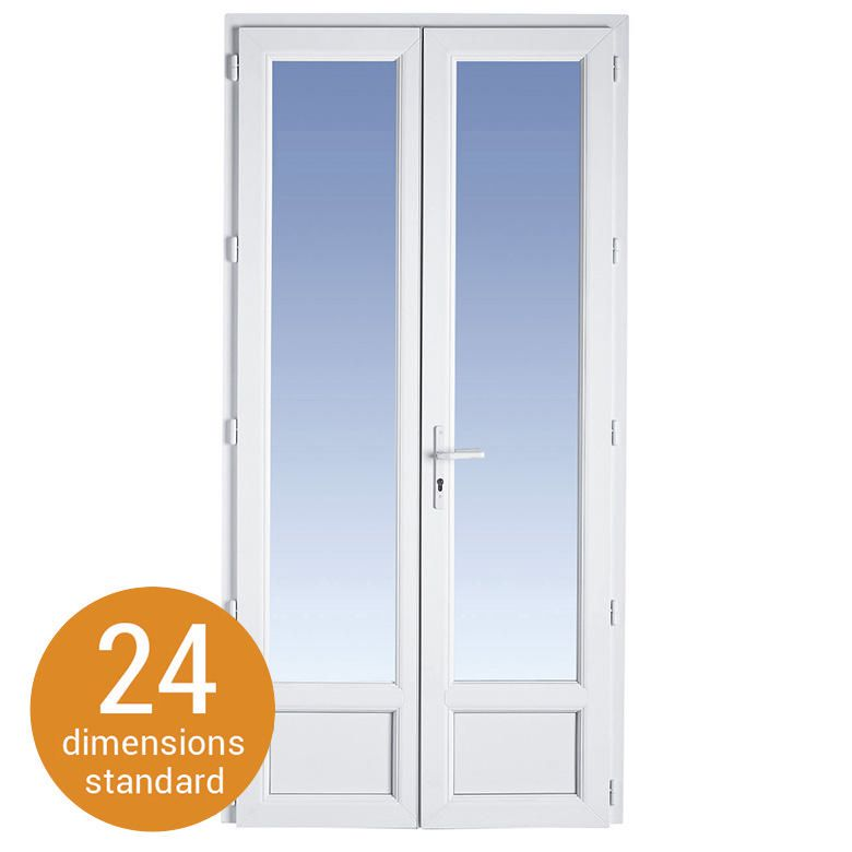 Dimension douche italienne standard ideal standard playa for Hauteur porte fenetre standard