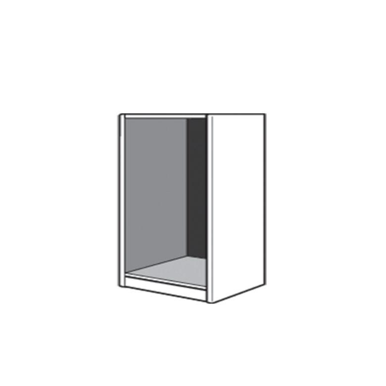dressing espace caissons droit h 75 x p 50 cm rangements. Black Bedroom Furniture Sets. Home Design Ideas