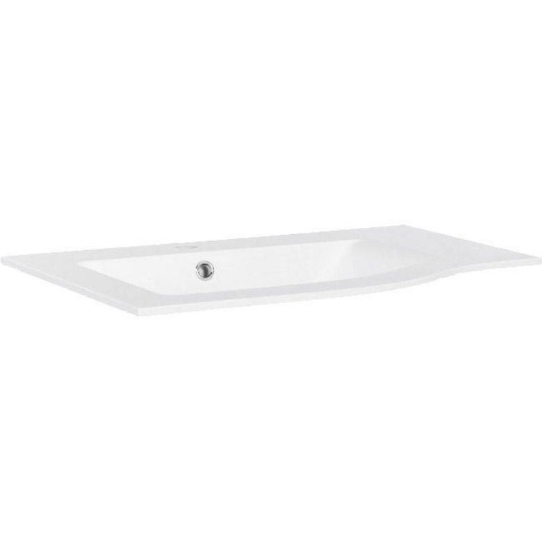 Plan en r sine pour meuble de salle de bains evane salle - Resine pour salle de bain ...