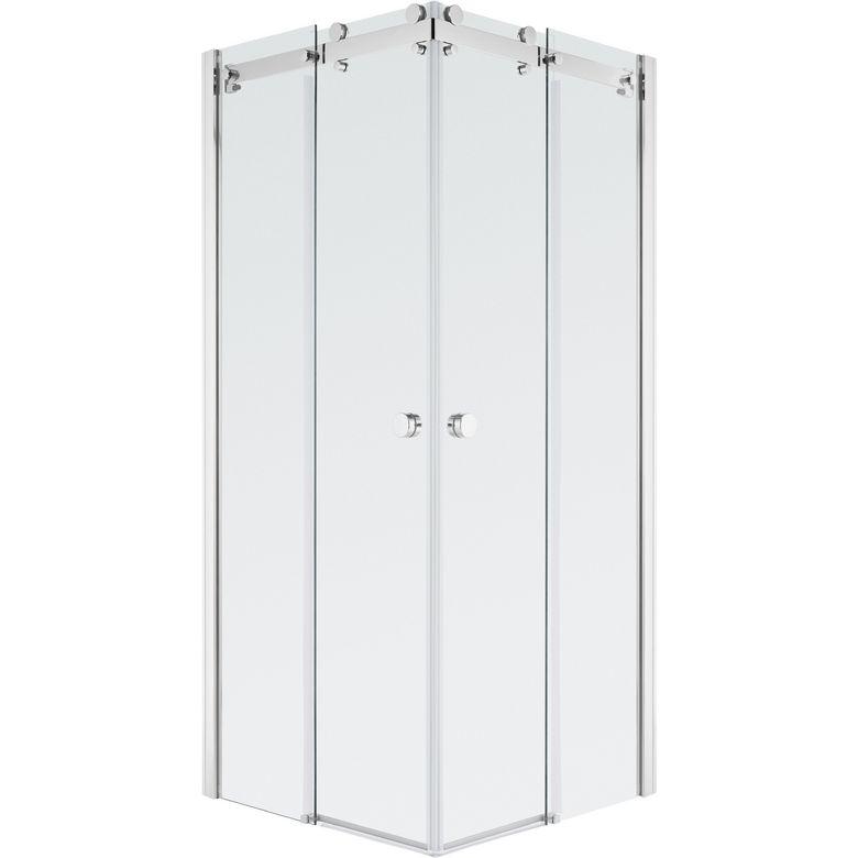 acc s d 39 angle par portes coulissantes carr es palace salle de bains. Black Bedroom Furniture Sets. Home Design Ideas
