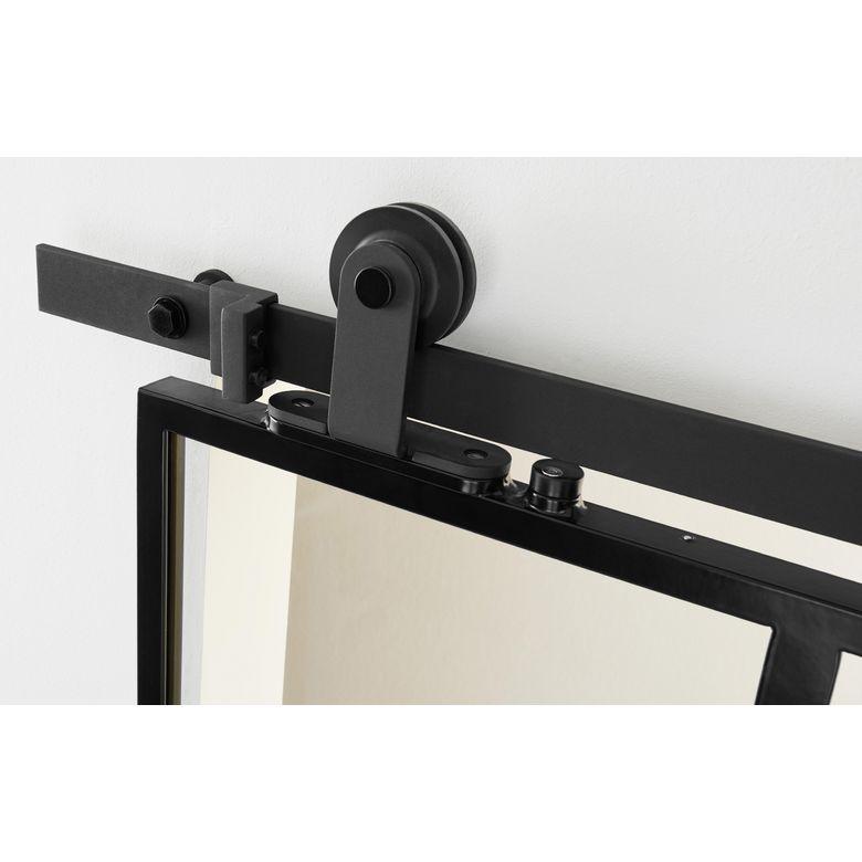 syst me coulissant harlem en applique pour portes en bois portes. Black Bedroom Furniture Sets. Home Design Ideas