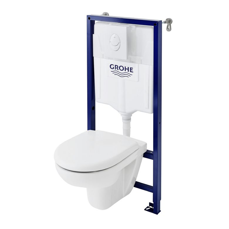 Pack wc suspendu univers plus mural salle de bains for Photo wc suspendu