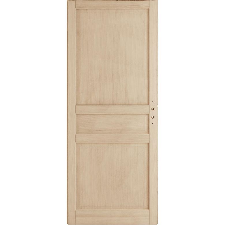 Porte seule ch ne plaqu classique portes lapeyre - Portes d interieur lapeyre ...
