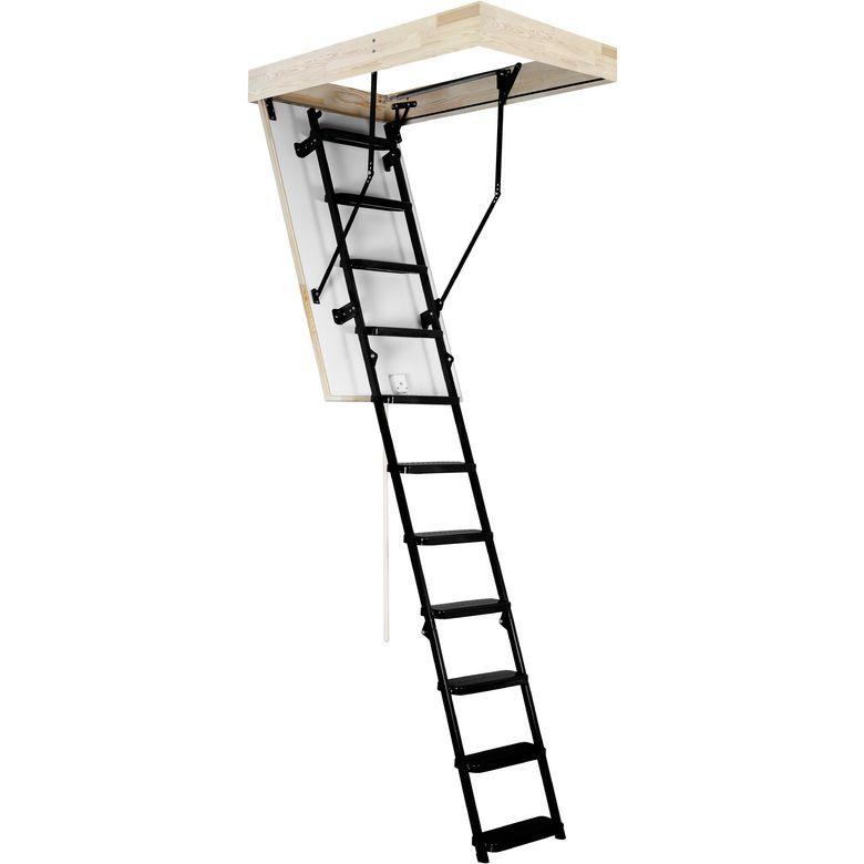 echelle escamotable pliante isolante en acier escaliers. Black Bedroom Furniture Sets. Home Design Ideas