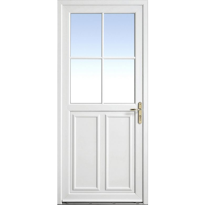 Porte d 39 entr e olonne pvc portes for Porte en pvc prix