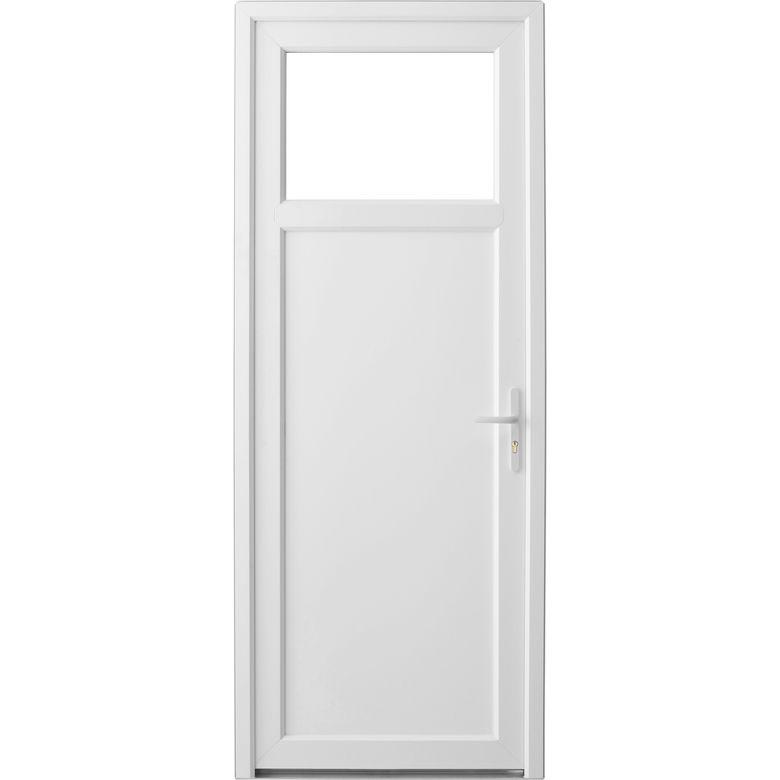 Porte de service pvc mol ne portes lapeyre - Porte en applique lapeyre ...