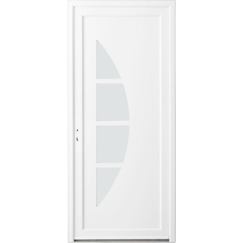 Porte d 39 entr e stella pvc portes lapeyre - Porte d entree pvc lapeyre ...