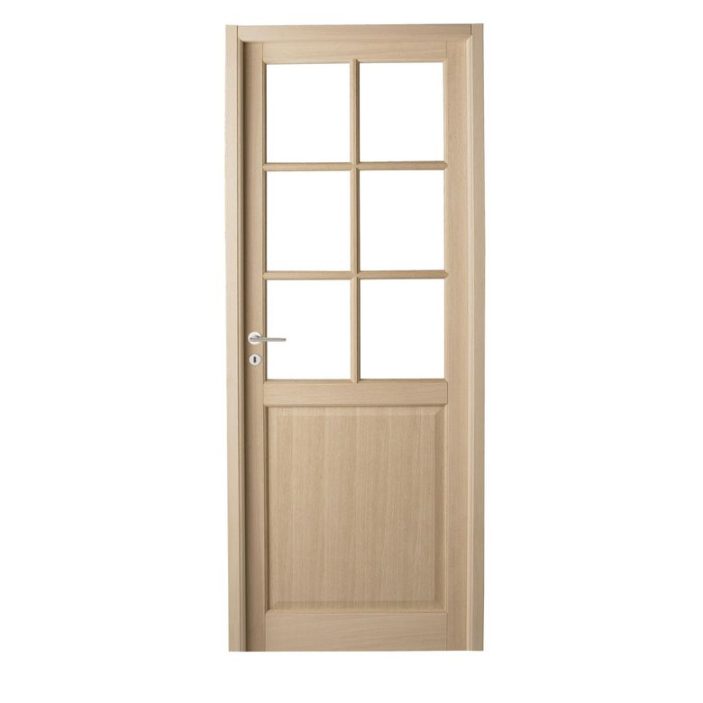 Porte coulissante en verre 73 cm porte coulissante vitrer for Vitre plexiglass castorama