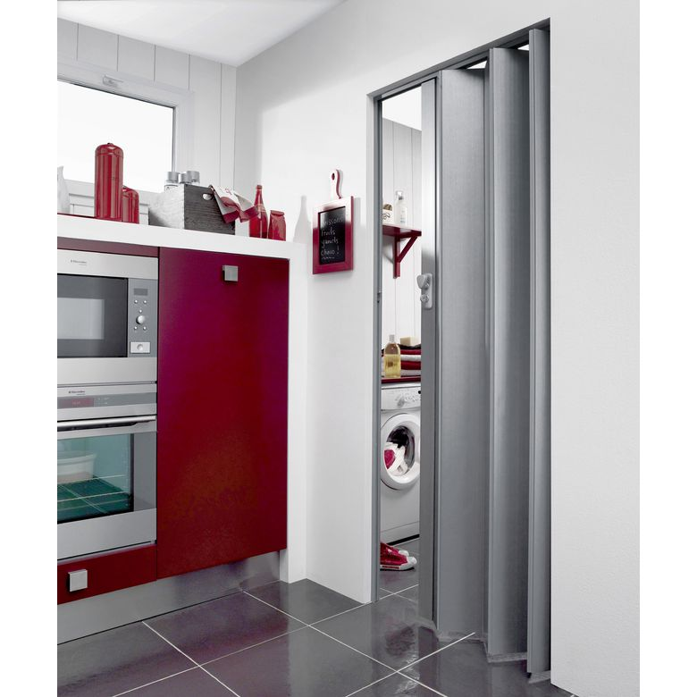Portes extensibles pvc portes for Prix double porte interieur