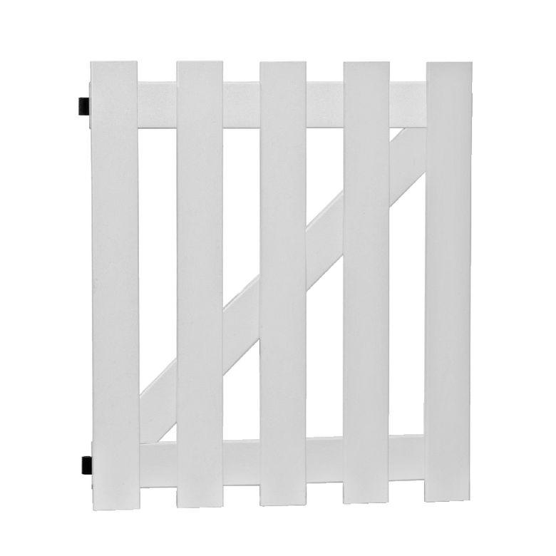 Portillon PVC Solano - Extérieur