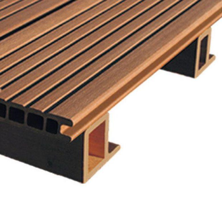 Lambourdes pour lames en bois composite axo oc wood et for Lame pvc pour terrasse exterieur