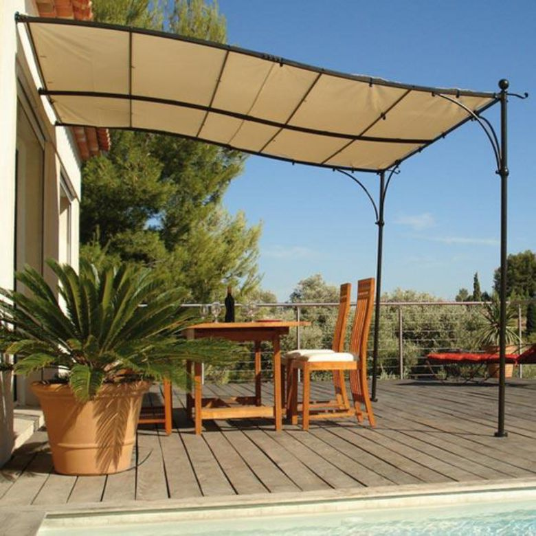 Tonnelle luberon ext rieur for Photos de pergolas