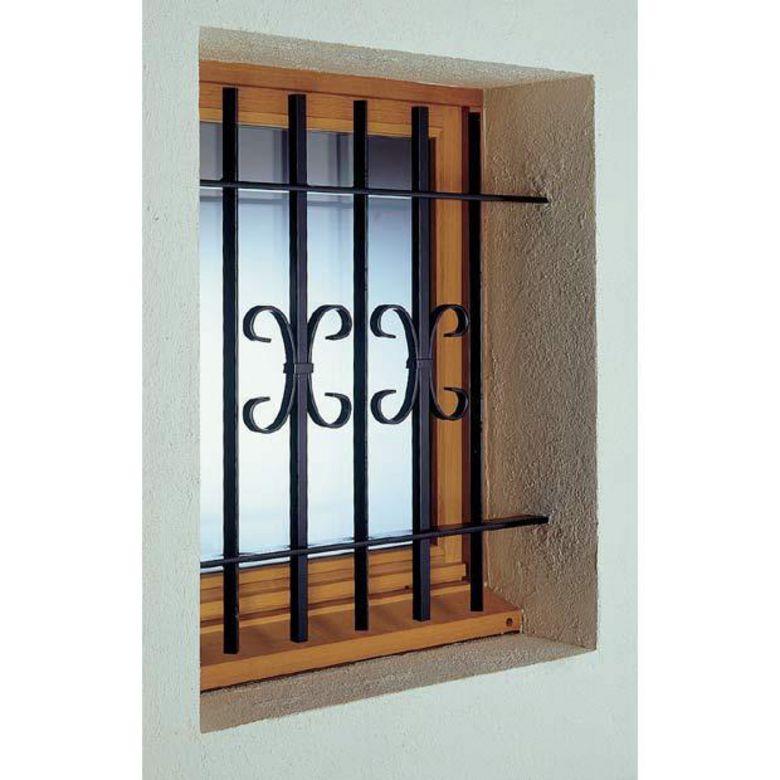 grille de d fense acier valois fen tres. Black Bedroom Furniture Sets. Home Design Ideas