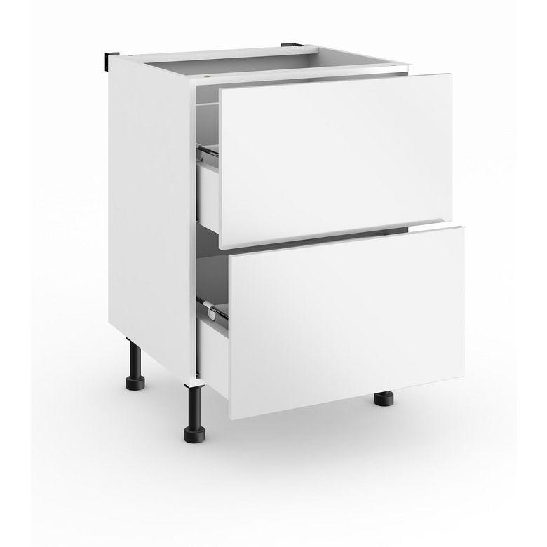 meuble de cuisine casserolier 2 tiroirs gaux urban cuisine. Black Bedroom Furniture Sets. Home Design Ideas