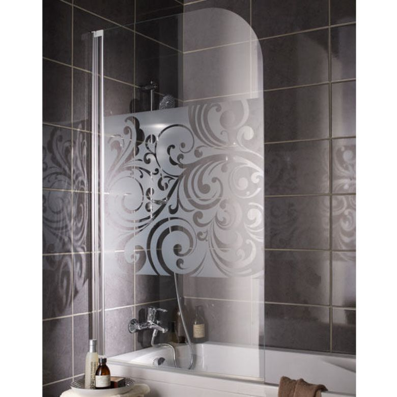Fabuleux de baignoire FLORAL - Salle de bains AY64