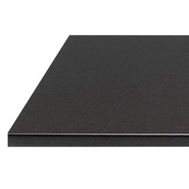 Plan de travail noir lave stratifi 38 mm cuisine for Plan de travail en pin
