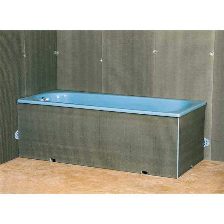 tablier pour baignoire droite salle de bains. Black Bedroom Furniture Sets. Home Design Ideas