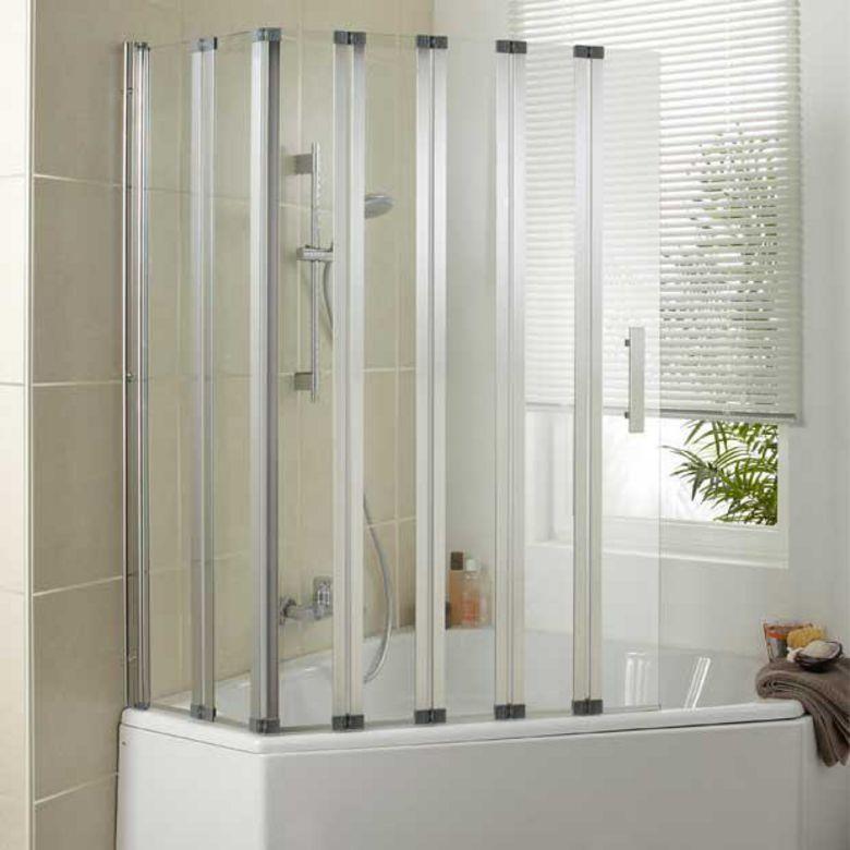 Ecran de baignoire wave salle de bains for Ecran de baignoire