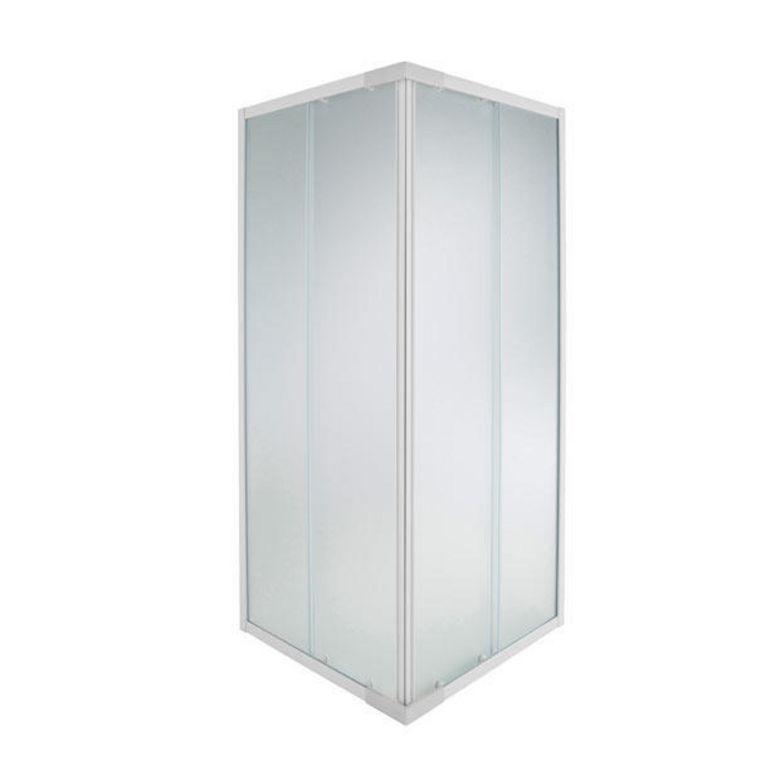 Acc s d 39 angle par porte coulissante nova salle de bains - Porte de douche d angle coulissante ...