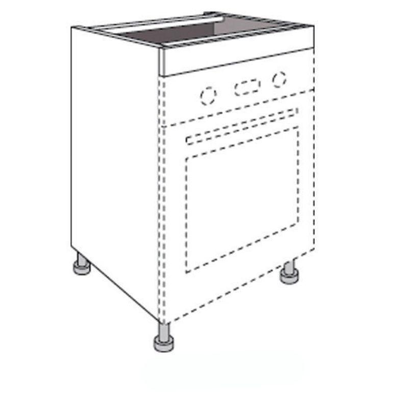 meuble de cuisine pour four avec 1 faux tiroir haut twist cuisine. Black Bedroom Furniture Sets. Home Design Ideas