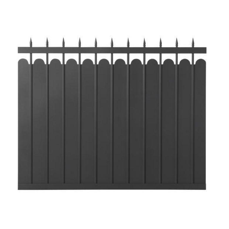 Trav e aluminium adaggio ext rieur for Travee de cloture aluminium
